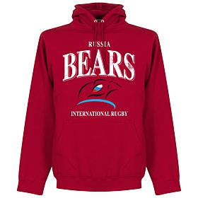 Russia Rugby Hoodie - Red