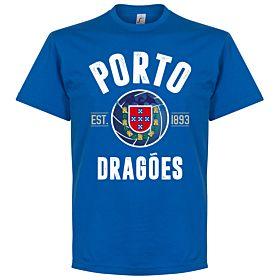 Porto Established Tee - Royal