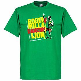 Roger Milla Dance Tee - Green