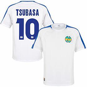 Nankatsu Shirt 1 - White/Blue + Tsubasa 10