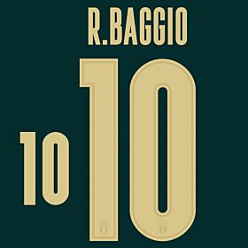 R. Baggio 10 (Official Printing) - 19-20 Italy 3rd Renaissance