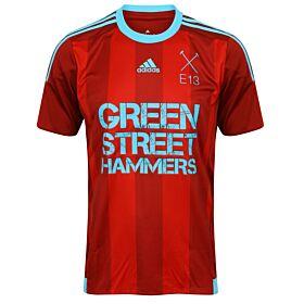Green Street Hammers Home Jersey