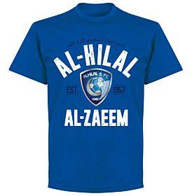 Al-Hilal Established T-Shirt - Royal