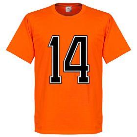 Holland No. 14 Retro Tee - Orange