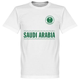 Saudi Arabia Team Tee - White