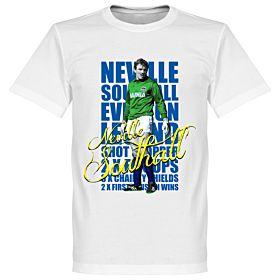 Neville Southall Legend Tee - White