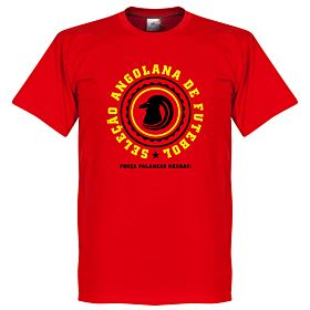 Angola Crest Tee - Red