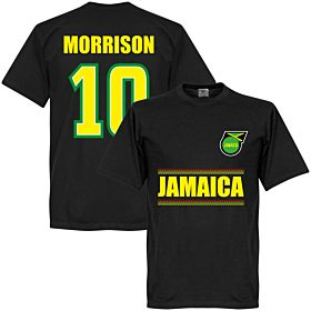Jamaica Morrison 10 Team Tee - Black