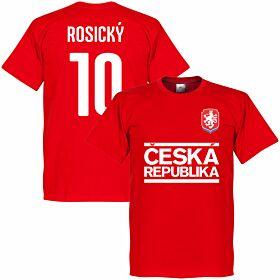 Czech Republic Rosicky Team Tee - Red