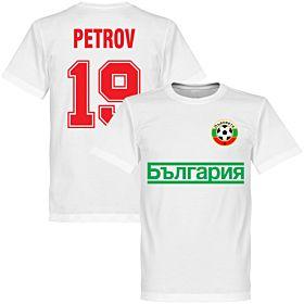 Bulgaria Petrov Team Tee - White
