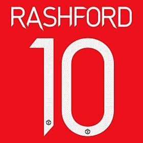 Rashford 10 (Official Cup Printing) - 20-21 Man Utd Home