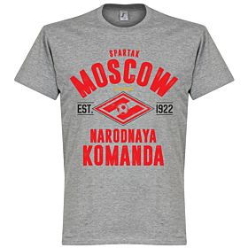 Spartak Moscow Established Tee - Grey