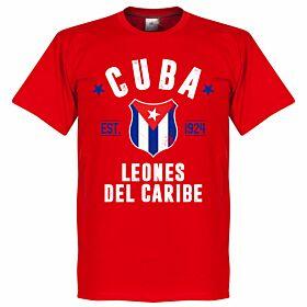 Cuba Established Tee - Red