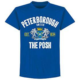 Peterborough Established T-shirt - Royal