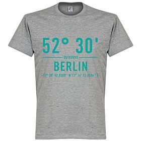 Hertha Berlin Home Coordinate Tee - Grey