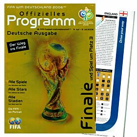 2006 Official WC Program - The way to the final (In German)