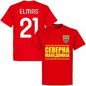 North Macedonia Elmas 21 Team T-shirt - Red