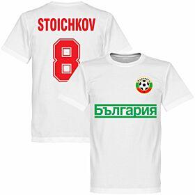 Bulgaria Stoichkov Team Tee - White