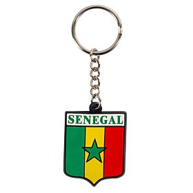 Senegal Rubber Keyring