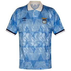 Umbro SS Lazio 1989-1991 Home Jersey - USED Condition (Good) - Size Medium