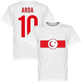 Turkey Banner Arda 10 Tee - White