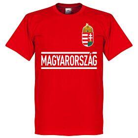 Hungary Team Tee - Red
