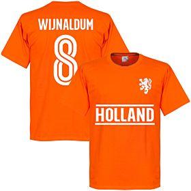 Holland Wijnaldum Team Tee - Orange