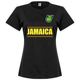 Jamaica Team Womens Tee - Black