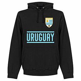 Uruguay Team Hoodie - Black