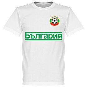 Bulgaria Team Tee - White