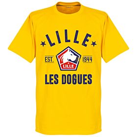 Lille Established Tee - Yellow