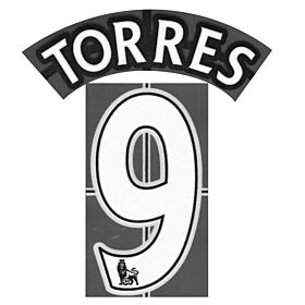 Torres 9 - 07-13 Chelsea Home BOYS Official Premier League Name & Number