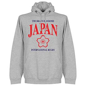 Japan Rugby Hoodie - Grey