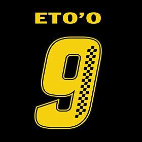 Eto'o 9 (Racing Style)