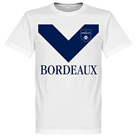 Bordeaux Team Tee - White