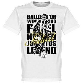 Nedved Legend Tee - White