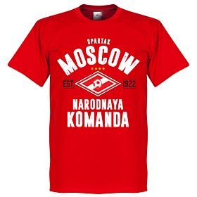 Spartak Moscow Established Tee - Red