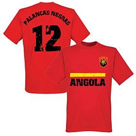 Angola Home Tee - Red