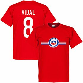 Chile Vidal Tee - Red
