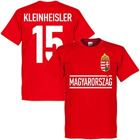 Hungary Kleinheisler Team Tee - Red