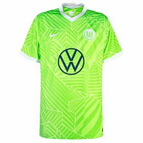 21-22 VFL Wolfsburg Home Shirt