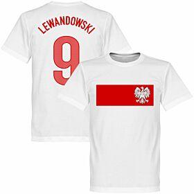 Poland Lewandowski Banner Tee