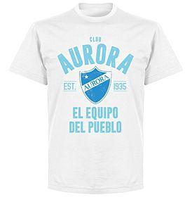 Club Aurora Established T-Shirt - White