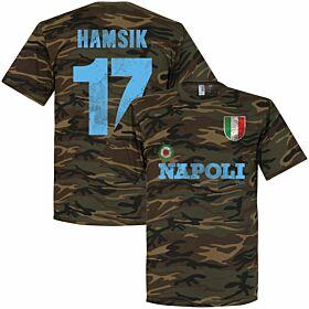 Napoli Hamsik Camo Tee