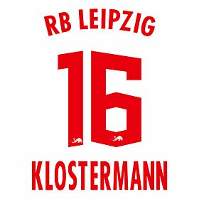 Klostermann 16 (Official Printing) - 20-21 RB Leipzig Home