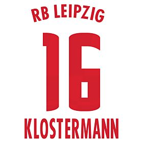 Klostermann 16 (Official Printing)