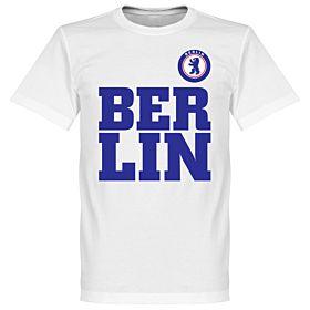 Berlin Text Tee - White