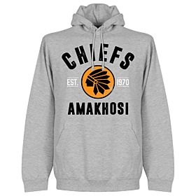 Kaizer Chiefs Established Hoodie - Grey