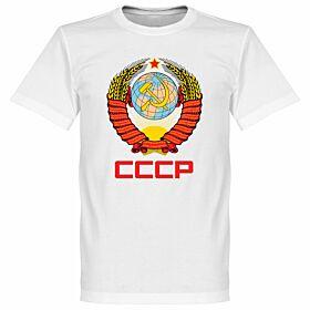 CCCP Crest Tee - White
