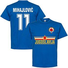 Yugoslavia Mihajlovic Team Tee - Royal